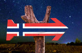 Norway Flag sign — Stock Photo