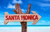 Santa Monica Sign — Stockfoto