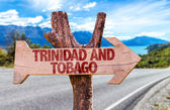 Trinidad and Tobago sign — Stock Photo