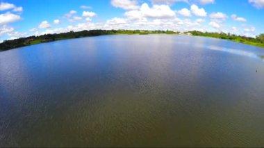 Lago Paranoa in Brasilia — Stock Video