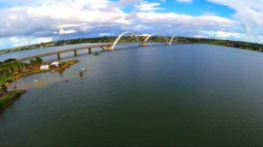 Juscelino Kubitschek Bridge — Stock Video