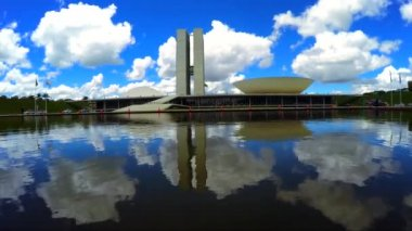 The National Congress of Brazil — Stock Video