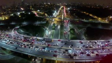 Avenue Radial Leste in Sao Paulo — Stock Video