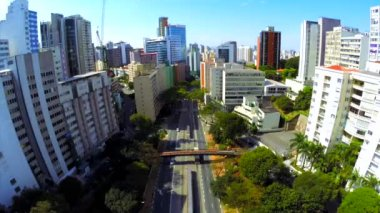 Sao Paulo financial district — Stock Video