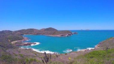 Buzios ostrovy v Rio de Janeiru — Stock video