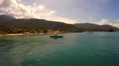 Abraao Beach in Ilha Grande — Stock Video