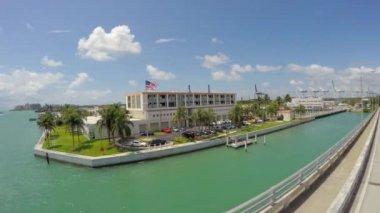 Driving in Miami, Florida — Stock Video