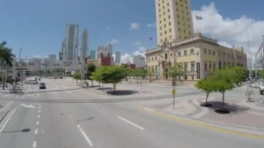 Miami Freedom Tower — Stock Video