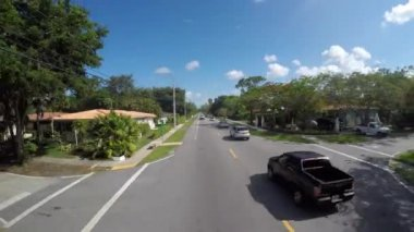 Residencial okresu Miami — Stock video