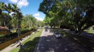 Miami residencial district — Stock Video