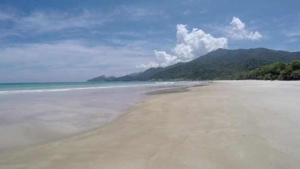 Summer Day in Praia Lopes Mendes — Vídeo de stock