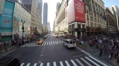 La circulation à new york — Vidéo