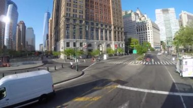 Surrogate's Courthouse in Lower Manhattan — Stock Video