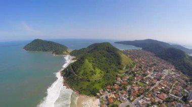 Rio de Janeiro Coastline — Stock Video
