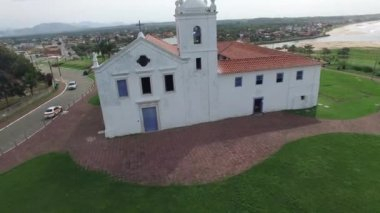Church Igreja dos Reis Magos — Stock Video