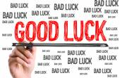 Good Luck and Bad Luck — Stock Photo