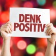 ������, ������: Think Positive card