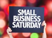 Small Business Saturday — Stock Photo