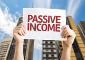 Passive Income card — Stock Photo