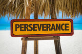 Perseverance text sign — Stock Photo
