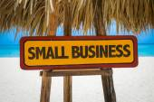 Small Business sign — Stock Photo