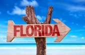 Florida wooden sign — Stock Photo