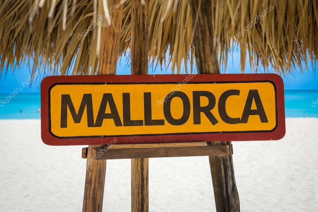 Mallorca text sign stock photo 84041370 - Job today palma de mallorca ...