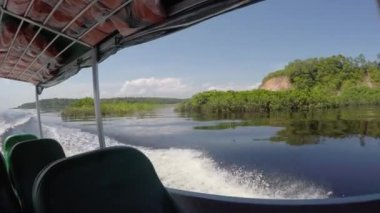 Travel in Rio Negro — Stock Video