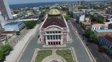 The Amazon Theatre, Manaus — Stock Video