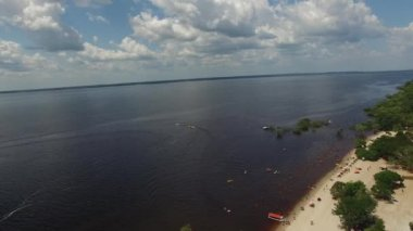 Amazon River, Manaus, Brazil — Stock Video