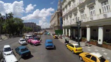 Driving in Old Havana, Cuba — Stock Video