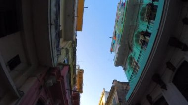 Typical Residences in Havana — Stock Video