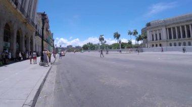 Ulice w starej Hawanie — Wideo stockowe