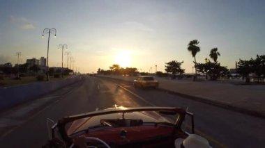Driving in Havana, Cuba — Stock Video