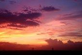 фото фон неба закат — Стоковое фото