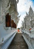 "Wat Rong Khun ""white Temple"" — Foto Stock"