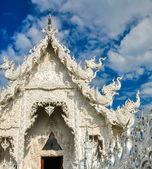 "Wat Rong Khun ""white Temple"" — Stock Photo"
