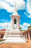 Campanile at Wat Phra Borommathat Chaiya — Stock Photo