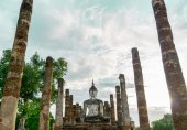 Sukhothai Temple, Thailand — Stock Photo