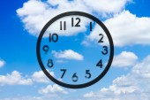 cloud in blue sky   — Stock Photo