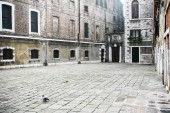 Street view in italy — Stock Photo