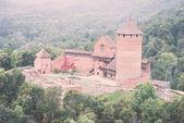 Old castle of Turaida - retro, vintage — Foto de Stock