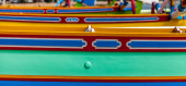 красочные лодки — Стоковое фото