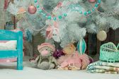 Christmas , new year interior — 图库照片