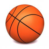 篮球球 — 图库照片