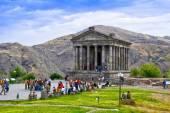 Garni Pagan Temple, the hellenistic temple in Republic of Armenia — Stock Photo