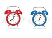 Alarm Clocks — Stock Vector