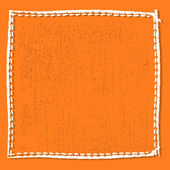 Frame fabric — Stock Vector