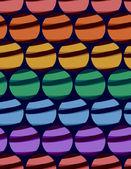 Colored balls (festive lanterns) — Stock Vector