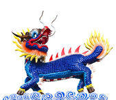 Dragon-headed unicorn — Stock Photo